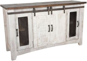 American Furniture Warehouse Pueblo Tv Stand ifd360stand 60 Puebla Barn Door Tv Stand by Artisan Home