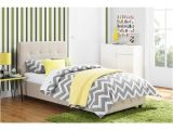 Amherst Upholstered Platform Bed Instructions Avenue Greene Romeo Tan Linen Upholstered Twin Bed Free