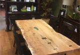 Amish Furniture Stores Near Sugarcreek Ohio Live Edge Dining Room by Weaver Barns Live Edge Amish Country