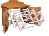 Amish Made Clothes Drying Rack Compact Clothes Rack Wooden Clothes Rack and Different