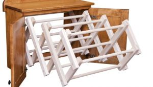 Amish Made Wooden Clothes Drying Rack Used Clothing Rack Amazing Heavy Duty Rail Wheel