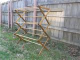 Amish Wooden Clothes Drying Rack Plans Bl Working Wooden Clothes Drying Rack Plans