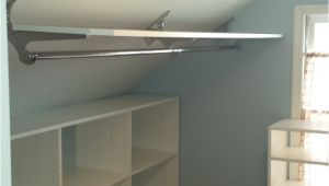 Angled Ceiling Clothes Rod Bracket Marcy Kittl Marcellakittl On Pinterest