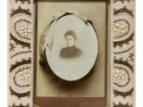 Antique Oval Picture Frames with Bubble Glass Antique Victorian Portrait Framed Photo Chairish