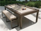 Aramith Fusion Pool Table Dimensions the Outdoor Billiards to Dining Table Hammacher Schlemmer My
