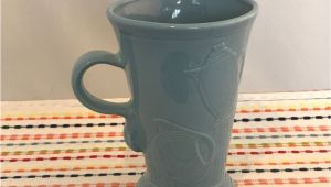 Are Fiesta Mugs Microwave Safe Fiestaware Periwinkle Pedestal Mug Fiesta Retired Blue 18 Oz Footed