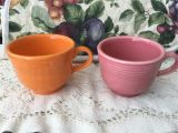 Are Fiesta Mugs Microwave Safe Fiestaware Tea Cups Fiestaware Coffe Mugs Etsy