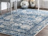 Area Rugs with Texas Star Amazon Com Nuloom Rzbd21b Vintage Odell Rug 6 7 X 9 Light Blue