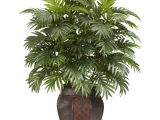 Artificial Palm Trees for Sale Near Me Nearly Natural 38 In H Green areca Palm with Vase Silk Plant 6651