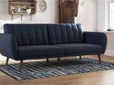 As Seen On Tv sofa Saver Amazon Com Novogratz Brittany sofa Futon Navy Linen Kitchen Dining