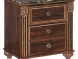 Ashley Furniture Discontinued Nightstands Gabriela Nightstand Dark Reddish Brown Signature