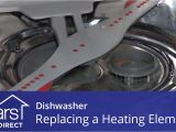 Attach Ikea Cover Panel Dishwasher Replacing the Heating Element On A Dishwasher Youtube