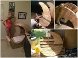 Baby Cradle Plans Pdf Half Moon Pallet Baby Cradle Diy Tutorial Woods Pinterest