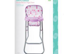Baby Doll High Chair Walmart Ba Stella Blissful Blooms High Chair for Nurturing Ba Dolls Playset