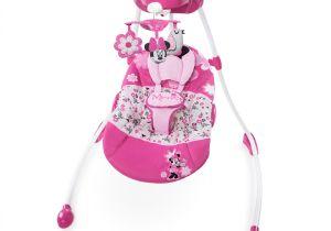 Baby Doll High Chair Walmart Disney Baby Minnie Mouse Garden Delights Swing Walmart Com