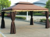 Backyard Creations Replacement Canopy 10×13 Gazebo 10 X 13 Gazebo Full Size Of Netting Metal Framed