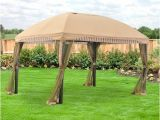 Backyard Creations Replacement Canopy for 10×10 Gazebo Garden Winds 13 X 10 Domed Gazebo Replacement Canopy
