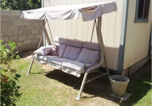 Backyard Creations Replacement Canopy for Swing Courtyard Creations Rus418a Patio Swing Canopy and Cushion