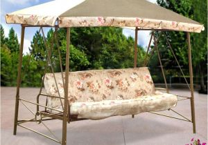 Backyard Creations Replacement Canopy for Swing Courtyard Creations Rus472w 2007 Garden Swing Garden Winds