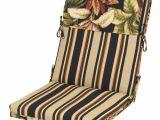 Backyard Creations Replacement Cushions Backyard Creations Raven Floral Chair Cushion at Menards