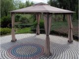 Backyard Creations Replacement Parts Replacement Canopy for Wind Resistant Gazebo Garden Winds