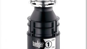 Badger 1 Vs Badger 5 Garbage Disposal Insinkerator Badger 5 Sink and Faucet