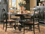 Baer S Furniture Dining Room Tables Indigo Creek Round Pedestal Dining Table by Hooker