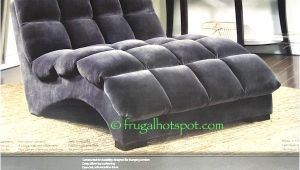 Bainbridge Double Fabric Chaise Lounge Costco Bainbridge Double Chaise Lounge 349 99 Frugal