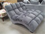 Bainbridge Double Fabric Chaise Lounge Costco Bainbridge Fabric Microfiber Pillow Chaise Lounger