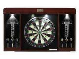 Barrington 40 Dartboard Cabinet with Led Light Barrington Dartboard Cabinet Set Md Sports Your Best