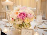 Bases De Cristal Para Centros De Mesa En Df Flowers Decor Real Weddings Wedding Style Pink Centerpieces