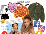 Basic White Girl Starter Pack Reddit the Trendy Chicks In 2014 2016 Starterpacks
