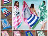 Bath Sheet Vs Beach towel 2019 Cute Cartoon Beach towel 160 80cm Animal Printed Adults