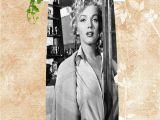 Bath towel Vs Bath Sheet Dimensions H P83 Custom Big Size 140cmx70cm Cotton Bath towel Marilyn Monroe 2