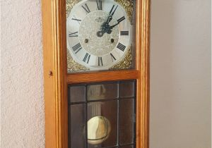 Battery Operated Clock Movements with Pendulum and Chime Restored Vintage Antique D A Brand 31 Day Key Wind Chiming