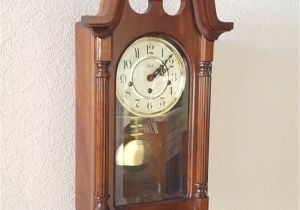 Battery Operated Clock Movements with Pendulum and Chime Vintage Antique Sligh Heirloom Quality Westminster Chiming Wall