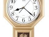 Battery Operated Clock Works with A Pendulum Amazon Com Justime Traditional Schoolhouse Easy to Read Pendulum