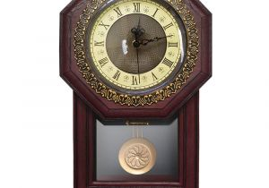 Battery Operated Grandfather Clock Works Amazon Com Giftgarden Silent Wall Clock with Pendulum Antique