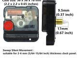 Battery Powered Clock Movements for Sale Diy Wall Clock Movement Mechanism Battery Operated Repair Parts