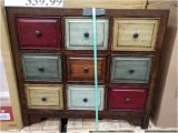 Bayside Furnishings Multi-color Accent Cabinet Bayside Furnishings 9 Drawer Accent Cabinet