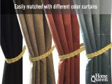 Bed Bath and Beyond Curtain Tie Back Hooks Amazon Com Home Queen Hand Braided Curtain Tie Back Buckle