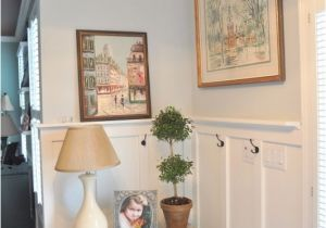 Behr Paint Color Light French Grey Completely Updated Foyer Diy Foyers Colors and French Blue
