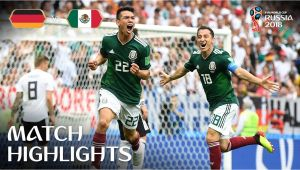 Belgium Vs Mexico Extended Highlights Germany V Mexico 2018 Fifa World Cup Russiaa Match 11 Youtube