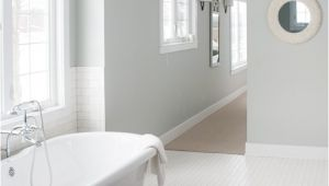 Benjamin Moore Arctic Gray Master Bathroom Decor the Lilypad Cottage