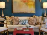 Benjamin Moore Galapagos Turquoise 2057-20 47 Wonderful and Inspiring Spaces for Showcasing Your Art