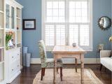 Benjamin Moore Pleasant Valley Wall Color Santorini Blue by Benjamin Moore Room Designed by Liza