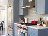 Benjamin Moore Portland Gray Modern Deco Kitchen Reveal Traditional Taste Kitchen Cabinets