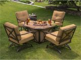 Berkley Jensen Patio Set Berkley Jensen 5 Piece Fire Pit Set with Cushioned Rockers