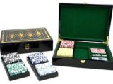 Best Clay Poker Chip Sets Poker Set with 300 Clay Composite Chips and Wood Box