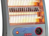 Best Indoor Heaters for Large Rooms In India Usha Quartz Room Heater 3002 800 Watt with Overheating Protection